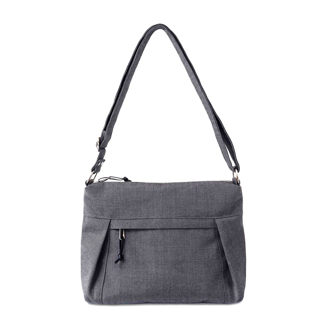 CARRYALL NO.2 - CHARCOAL GRAY - cross body purse - STANFIELD