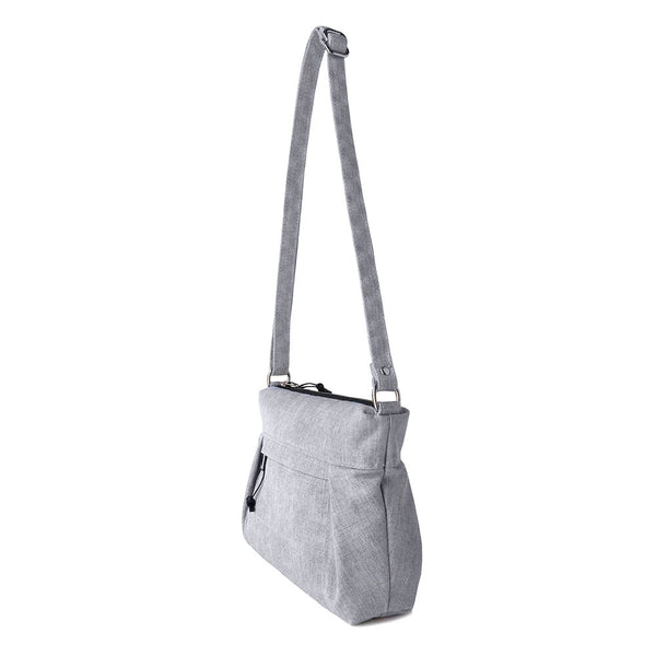 SMALL CARRYALL - HEATHER GRAY