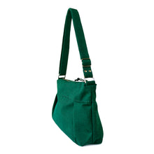 Load image into Gallery viewer, CARRYALL NO.2 - EMERALD GREEN - cross body purse - STANFIELD