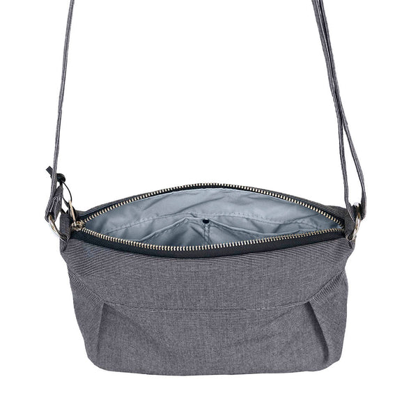 SMALL CARRYALL - CHARCOAL GRAY
