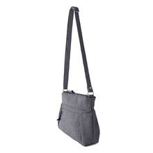 Load image into Gallery viewer, SMALL CARRYALL - CHARCOAL GRAY - cross body purse - STANFIELD