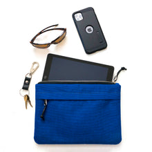 Load image into Gallery viewer, ORGANIZER CLUTCH - ROYAL BLUE - clutch bag - STANFIELD