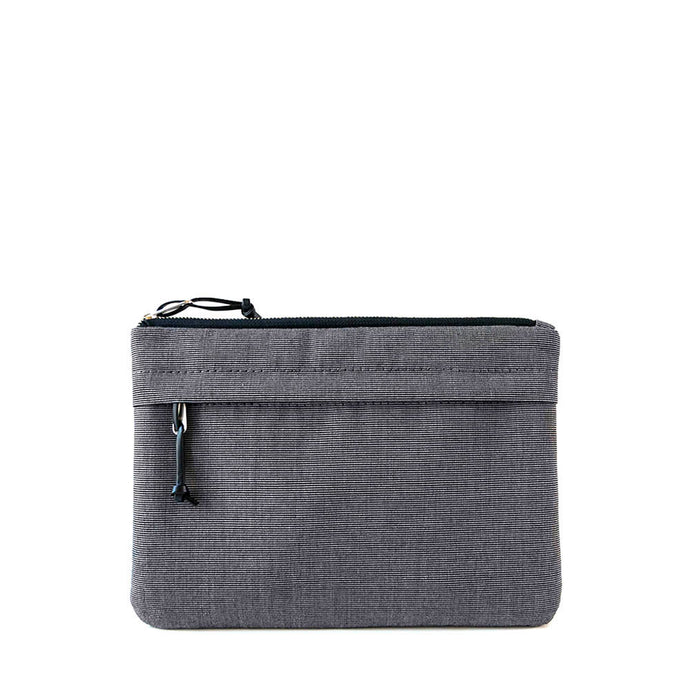ORGANIZER CLUTCH - CHARCOAL GRAY - clutch bag - STANFIELD