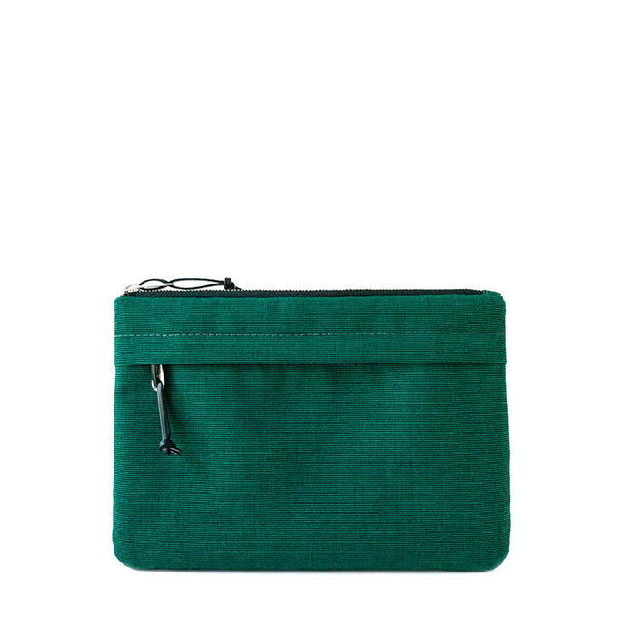 ORGANIZER CLUTCH - EMERALD GREEN - clutch bag - STANFIELD