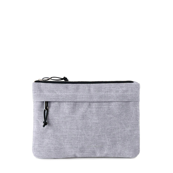 ORGANIZER CLUTCH - HEATHER GRAY - clutch bag - STANFIELD