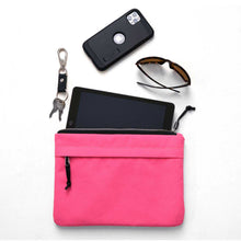 Load image into Gallery viewer, ORGANIZER CLUTCH - RASPBERRY SORBET - clutch bag - STANFIELD