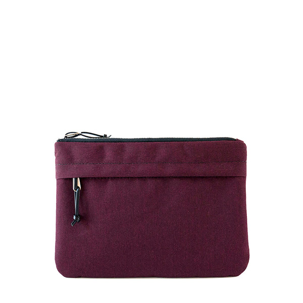 organizer clutch - plum - stanfield