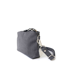 Load image into Gallery viewer, MINI CROSSBODY - CHARCOAL GRAY - cross body bag - STANFIELD