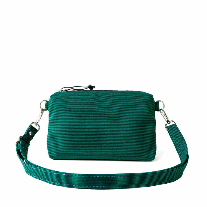 MINI CROSSBODY - EMERALD GREEN - cross body bag - STANFIELD