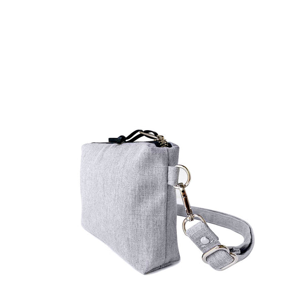 HIP POUCH - HEATHER GRAY