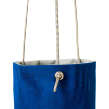 Load image into Gallery viewer, HANGING PLANTER - ROYAL BLUE - home decor - STANFIELD