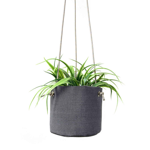 HANGING PLANTER - CHARCOAL GRAY
