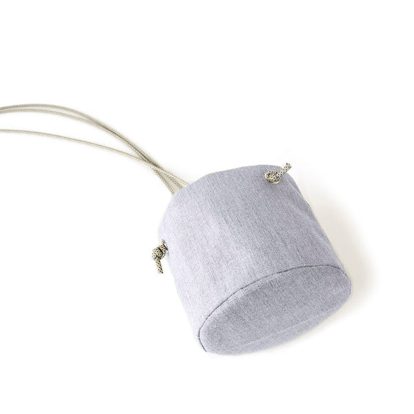 HANGING PLANTER - HEATHER GRAY