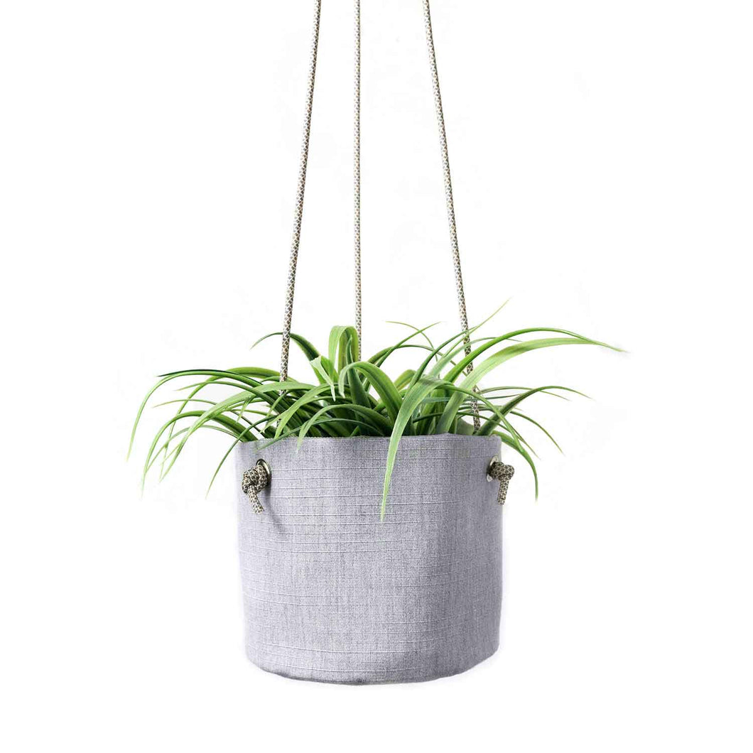 HANGING PLANTER - HEATHER GRAY - home decor - STANFIELD