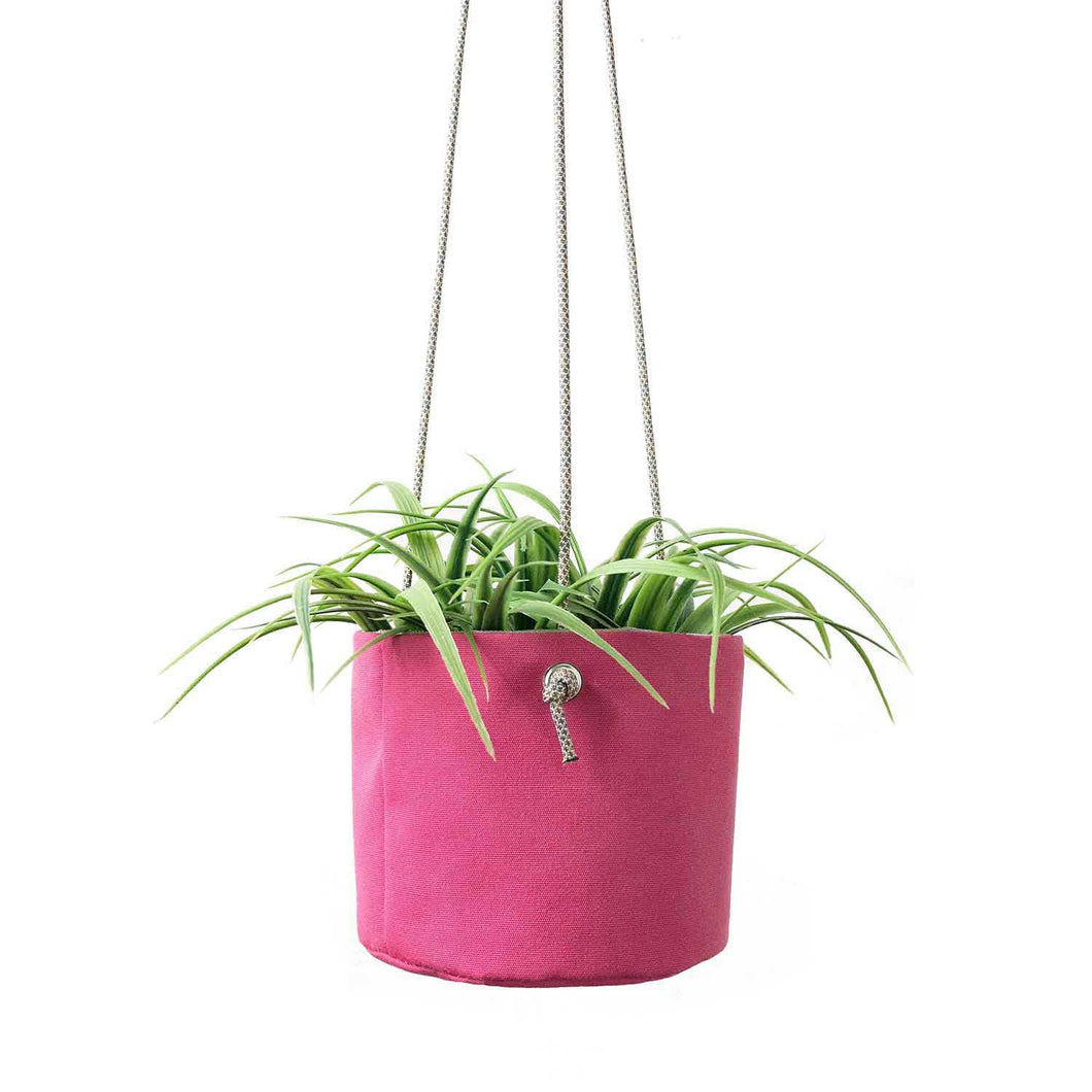 HANGING PLANTER - RASPBERRY SORBET - home decor - STANFIELD