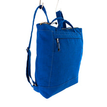 Load image into Gallery viewer, ZIP PACK - ROYAL BLUE - convertible backpack - STANFIELD