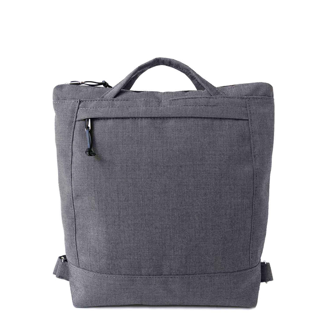 ZIP PACK - CHARCOAL GRAY - convertible backpack - STANFIELD