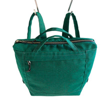 Load image into Gallery viewer, ZIP PACK - EMERALD GREEN - convertible backpack - STANFIELD