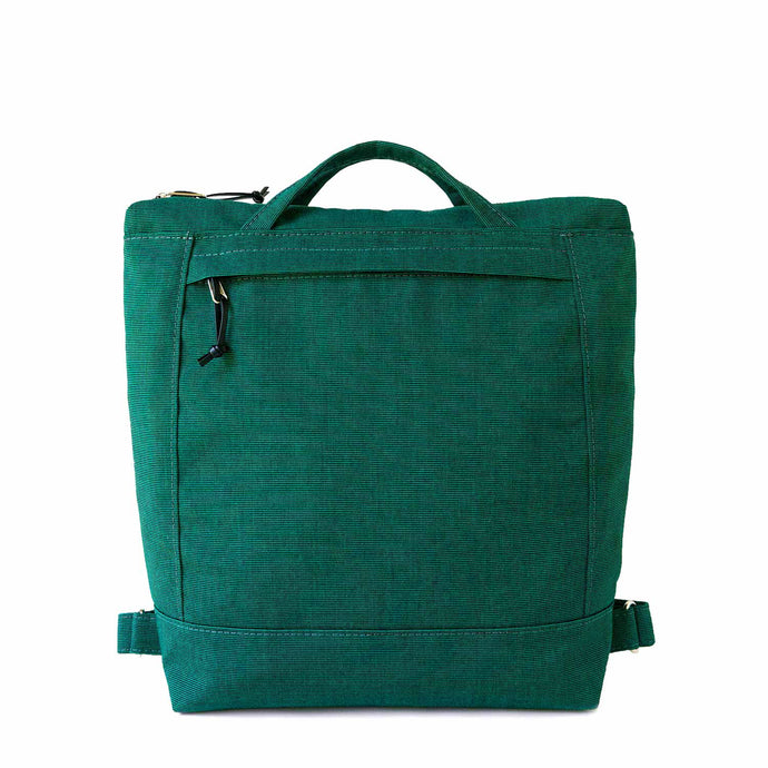 ZIP PACK - EMERALD GREEN - convertible backpack - STANFIELD