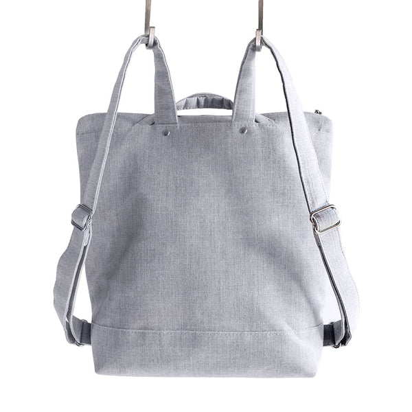 ZIP PACK - HEATHER GRAY