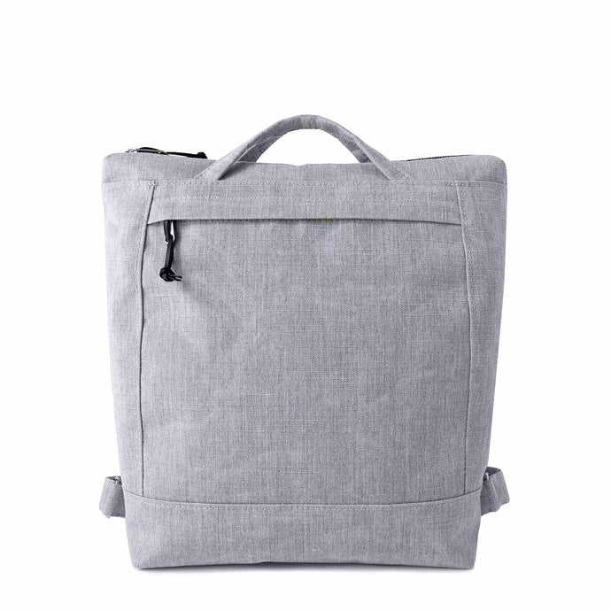 ZIP PACK - HEATHER GRAY - convertible backpack - STANFIELD
