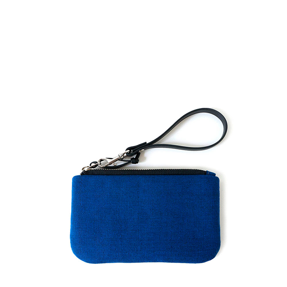 TINY CLUTCH - ROYAL BLUE - zip pouch - STANFIELD