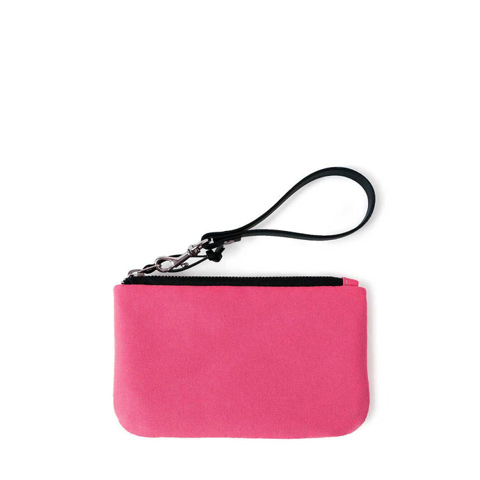 TINY CLUTCH - RASPBERRY SORBET - zip pouch - STANFIELD