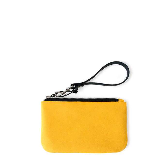 TINY CLUTCH - YELLOW - zip pouch - STANFIELD