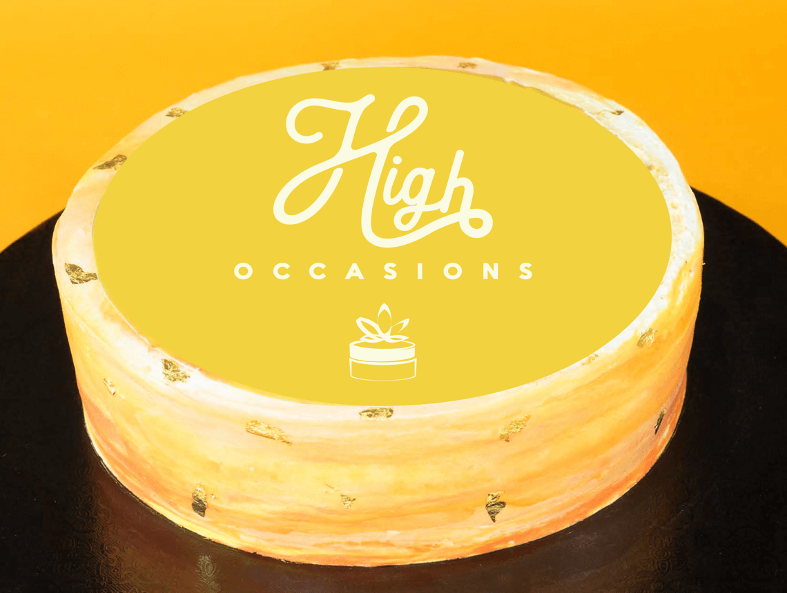 high occasions discreet cannabis cake