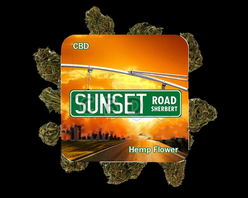 Sunset Road Sherbert