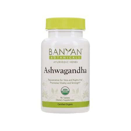 Banyan Botanicals Ashwagandha Supplements (500mg - 90 tabs)