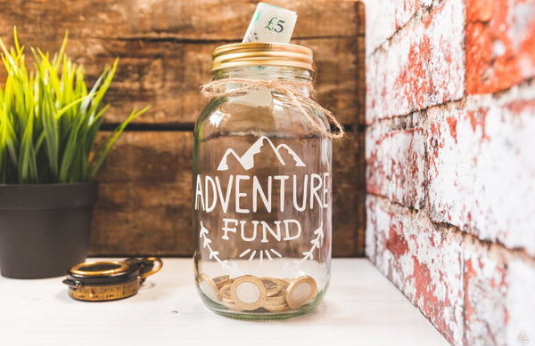 Adventure Fund White Jar - Large-Wander Collective