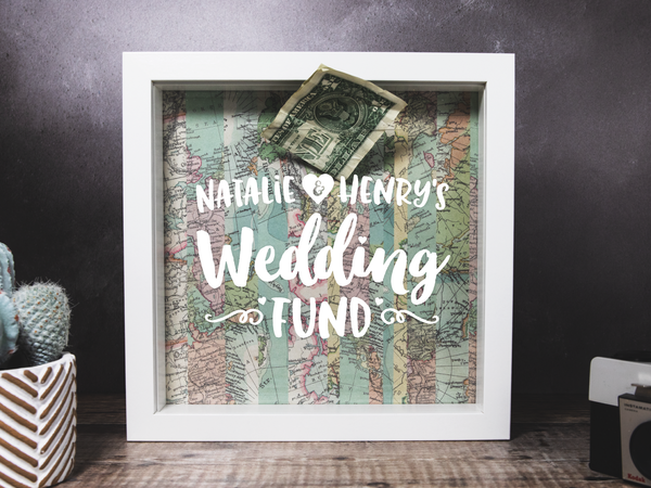 Personalised Wedding Fund Box