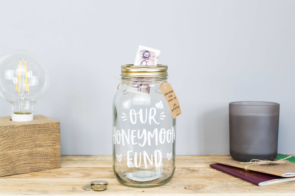Honeymoon Fund Jar - Large