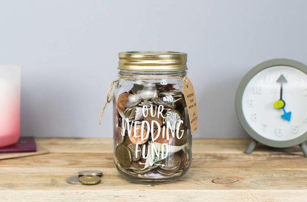 Wedding Fund Jar - Small
