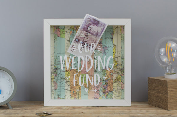 Our Wedding Fund Money Box