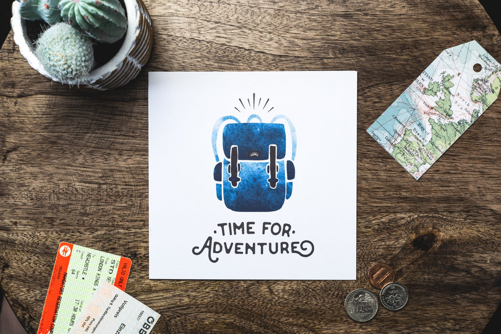 Time For Adventure Card
