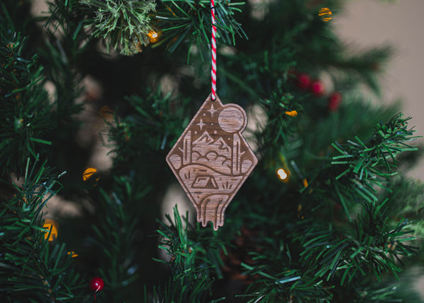 Camping Christmas Tree Decoration