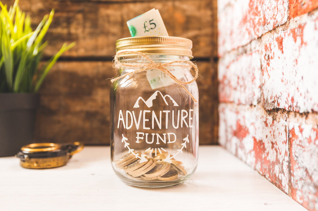 Adventure Fund White Jar - Small-Wander Collective