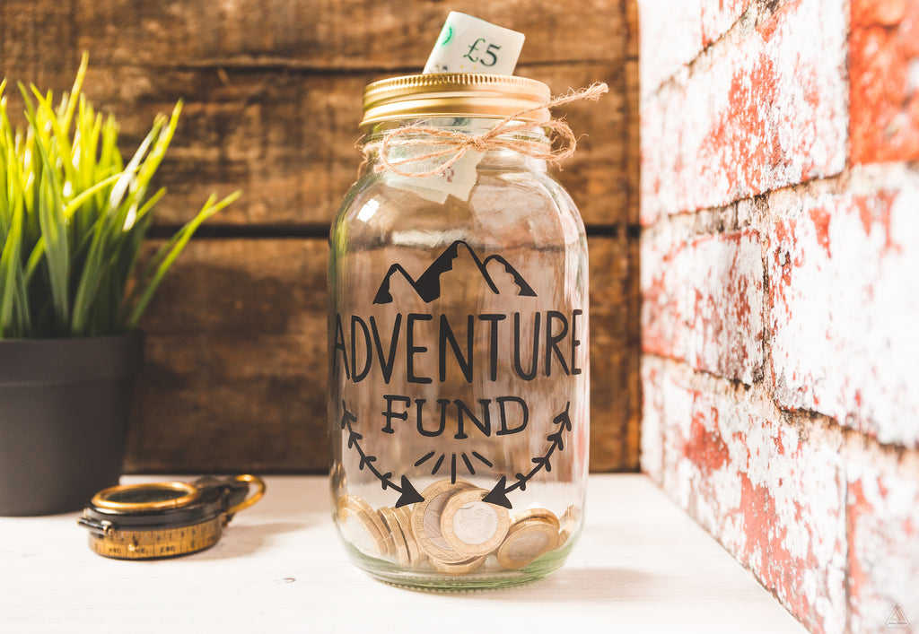 Adventure Fund Black Jar - Large
