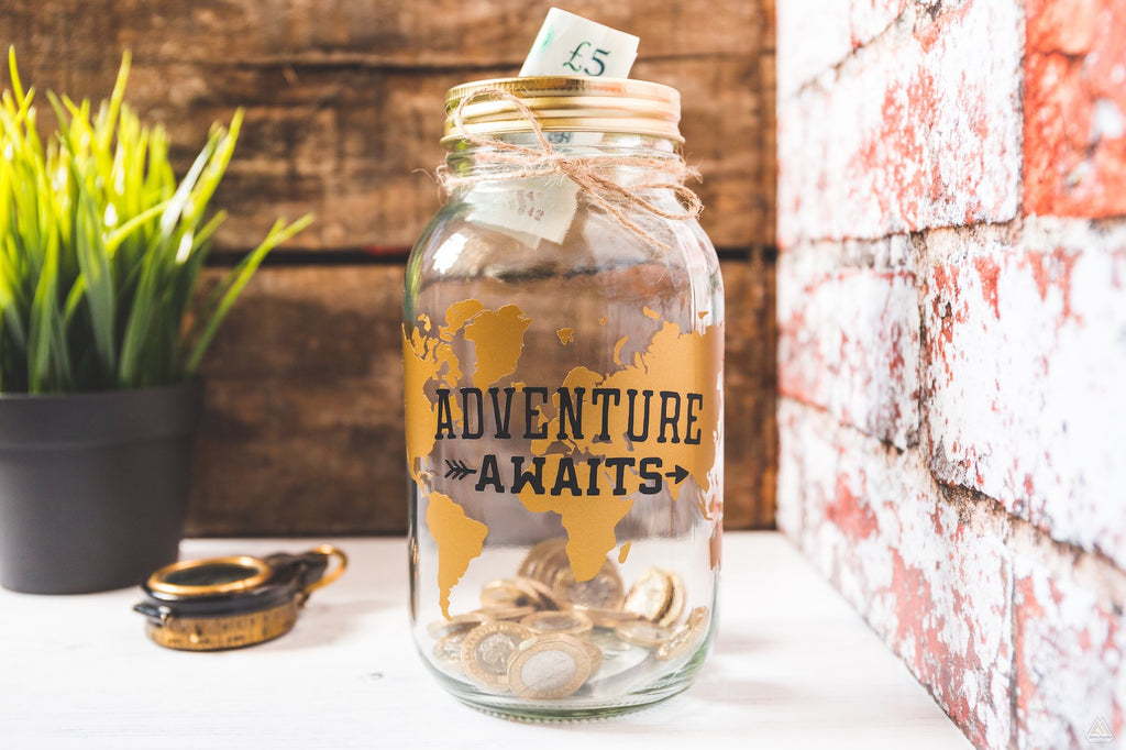 Adventure Awaits Jar
