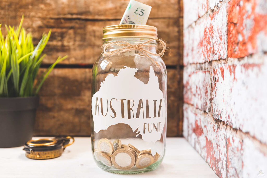Australia Fund Money Jar