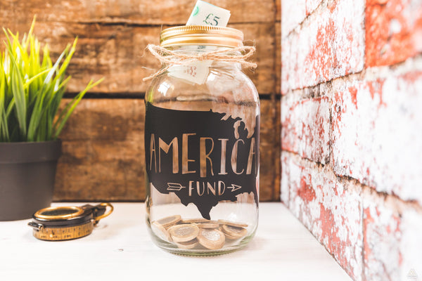 America Fund Money Jar