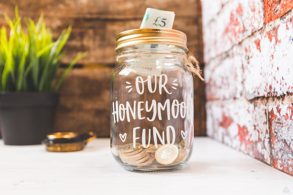 Honeymoon Fund Jar - Small