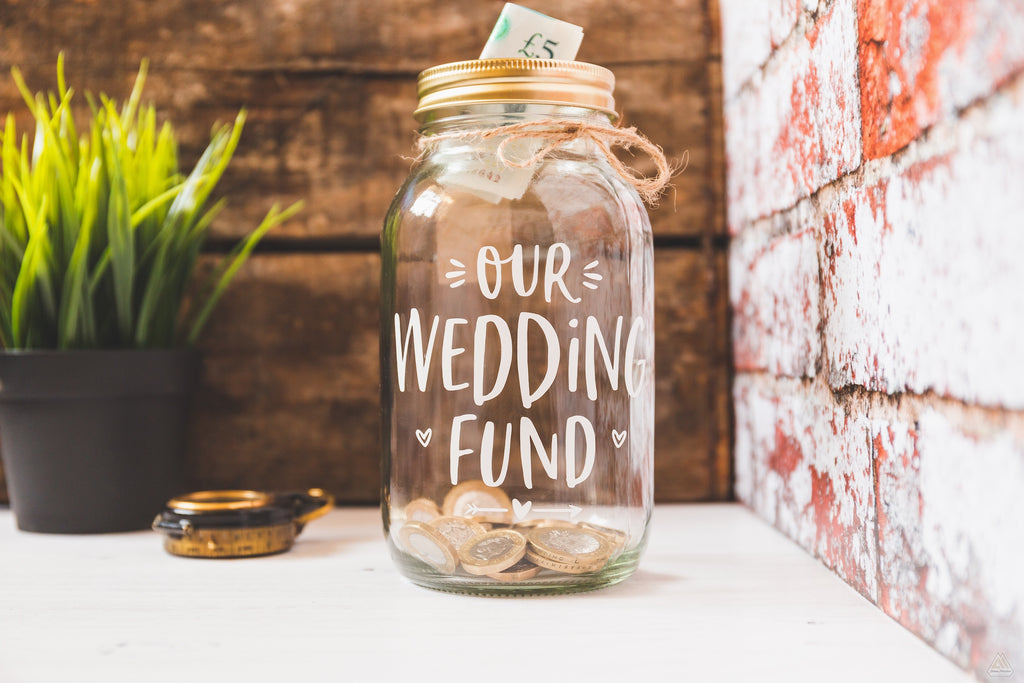 Wedding Fund Jar - Large