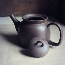 Load image into Gallery viewer, Round Yixing tea pot with lid