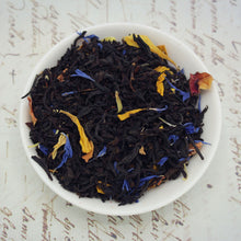 Load image into Gallery viewer, View of mango and passionfruit black loose leaf tea
