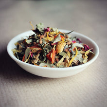 Load image into Gallery viewer, Dish of chakra herbal tea mix