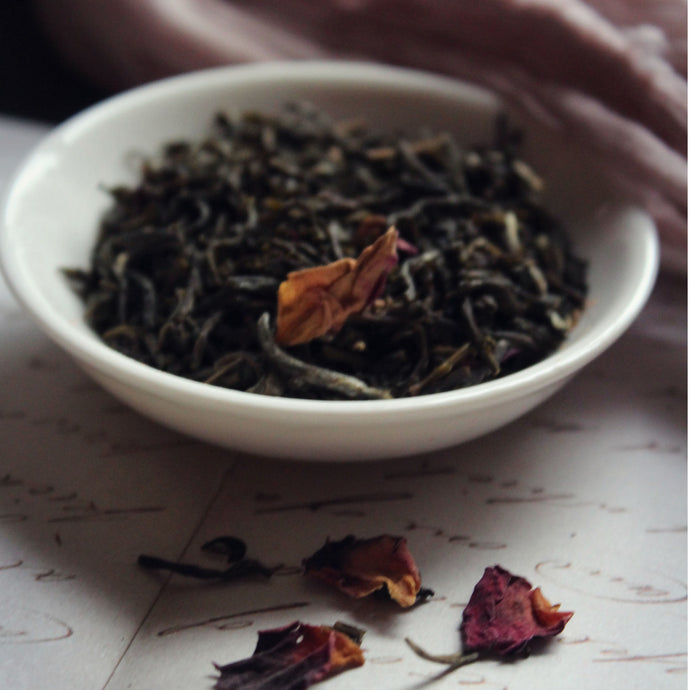 China rose green tea