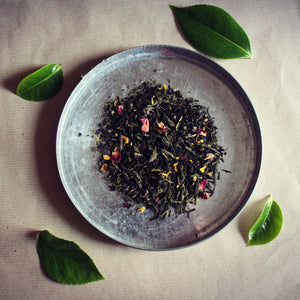 Emperor's Blend green and black tea